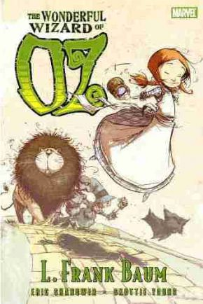 Wonderful Wizard Of Oz Graphic Novel Hardcover HC L. Frank Baum Marvel Comics